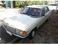 1978 Mercedes Benz 230 manual with tow bar