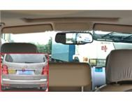 Car Rear View Mirror with Dashcam and Wireless Parking Camera -