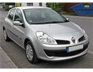 Drive and own a demo Renault Clio 3 Advantage from R 2222pm