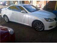 2010LEXUS IS 250 CONVERTABLE
