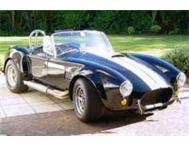 Car Hire Cape Town AC Cobra and Classic Cars