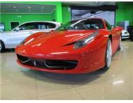 2011 Ferrari 458 Italia WITH 10000KMS