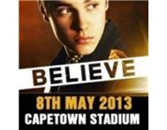 2 Bieber CT ticket R550 each