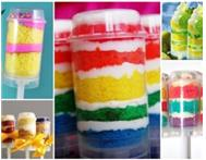Cakes cupcakes push pops cake pops&party favours from Mixies!
