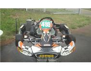 CRG Black Star 2011 Rotax 125 Junior Max