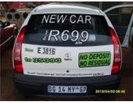 Drive a BRAND NEW CAR from only R499 per month! Why wait ! Pretoria