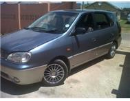 2002 Kia Carens 1.8 (8 seater) R39 ...