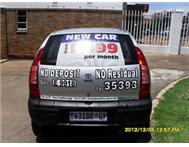 Own a brand new car from only R699p/m