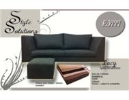 June SPECIAL! 2 seater for R3999 FREE ottoman!