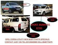 SPECIAL OFFER ON OPEL CORSA UTILITY & CORSA UTILITY SPORT -----