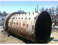 6X8 BALL MILL COMPLETE WITH G/GEAR Pinion G/Box and Liners @