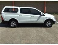 2007 SSANGYONG ACTYON SPORTS - WHITE