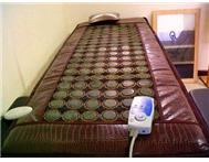 Jade Vibrating Matress with Jade stones various settings
