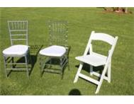 Event Chairs for Hire Limpopo Province Tiffany Chairs Layor Polokwane limpopo