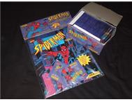 90 s Spiderman sticker album collection