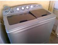 Silver 10kg twintub washing machine - secondhand edenvale