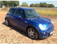 2005 MINI COOPER S AUTOMATIC A/C P/S E/W LEATHER SEATS MAGS IMMA