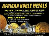 African Noble Metals - Cash for Gold