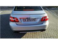 2010 MERCEDES-BENZ E-CLASS MERCEDES-BENZ E63 full house with xenons and 18 wheels only 22000km