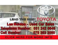 NEED A USED CAR GIVE ME A CALL ALL PRICES NEG. -LEE NAIDOO