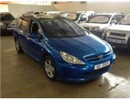 2002 PEUGEOT 307 S/W 5 SPEED MANAUL TRADE IN SPECIAL