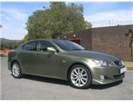 2008 Lexus IS 250 SE Manual