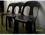 CHAIRS AND TABLES FOR HIRE