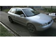 1999 AUDI A3 1.8 20 VALVE WITH SERVICE BOOKS