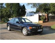 2001 BMW 318i E46 Manual Sunroof Blue