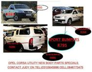 SPECIAL OFFER ON OPEL CORSA UTILITY&UTILITY SPORT NEW BODY PARTS