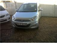 2011 HYUNDAI i10 GLS ON SPECIAL FOR R1700 P/MONTH. NO DEPOSIT. N