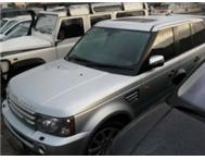 2008 Range Rover s/c low kilometers
