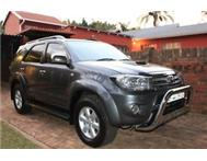 2009 Toyota Fortuner 3.0 D-4D Raised body Auto 4X2