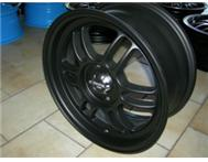 15 Enkei Racing rim in matte black - ONLY 1 SET AVAILABLE!