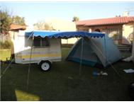 camping trailer fishing trailer