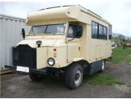 Land Rover Forward Control Motorhome