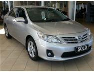 2013 Toyota Corolla 2.0D-4D Exclusive ONLY R3009pm!!