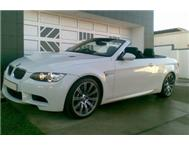 2008 BMW M3 Convertible Manual Pietermartizburg