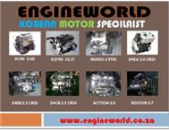 used korean motors and gearbox hyundai kia Daewoo &ssangyong