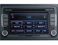 VW RCD 510 with 6 Disk MP3 Shuttle