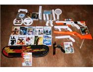 Wii Consol 11 Games with OPTIONAL extras too!!