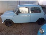 leyland mini clubman with a 12H GTS ENGINE