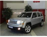 2011 JEEP PATRIOT 2.4i LIMITED CVT AUTOMATIC