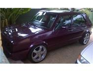 Golf1 CTI 1.8i with 17inch rims For Sale