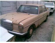 MERCEDES BENZ W114 AND W115 FOR SALE