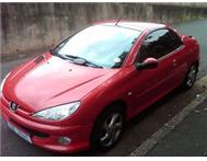 PEUGEOT 206 CONVERTIBLE - Finance can be arranged!!!