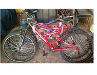 Two Moutainbikes for sale