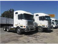4 X 2007 INTERNATIONAL EAGLE MID-ROOF 6X4 TRUCK TRACTORS Manual Shift R375 000 Ex VAT