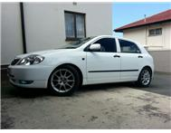 Toyota RunX Rsi 16 rims with tyres
