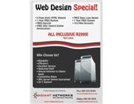 Web Design and Hosting Special!!